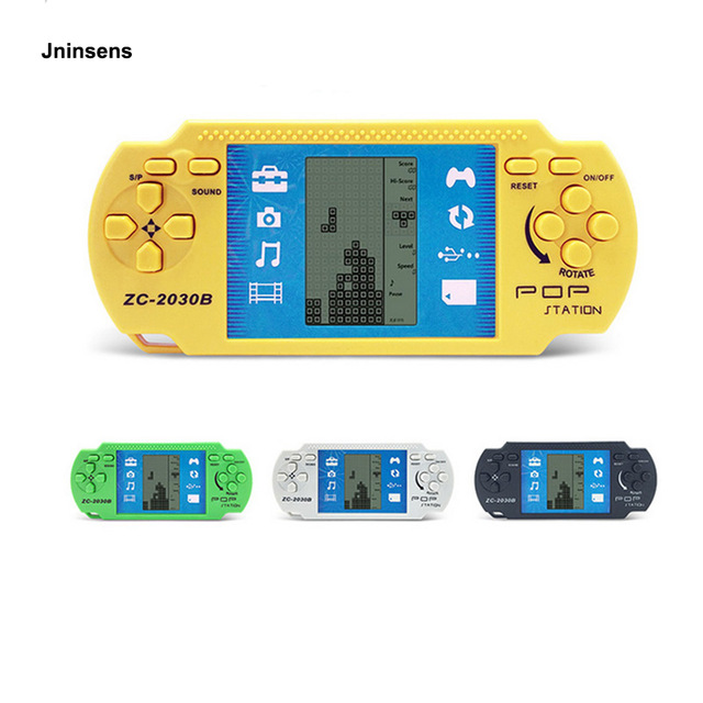 Retro Classic Childhood Tetris Handheld Game Players Console Electronic Games Toys For Kids Ganimy
